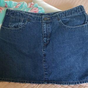 American Eagle Denim mini skirt size 10